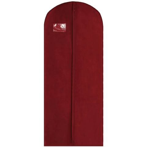 Dark Red Thick Long Coat Gown & Dress Cover / Carrier